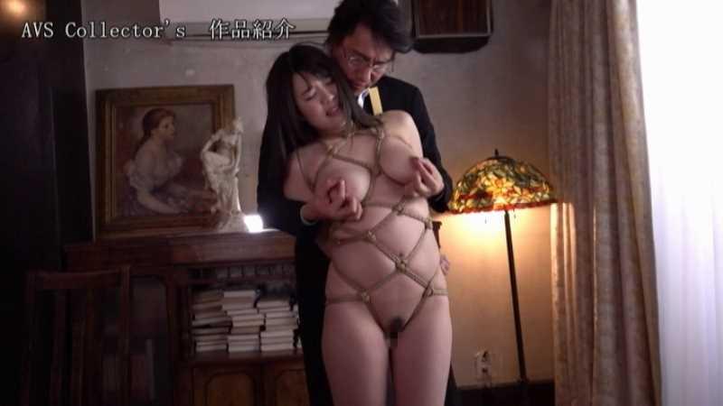 爆乳JKの制服緊縛エロ画像 45