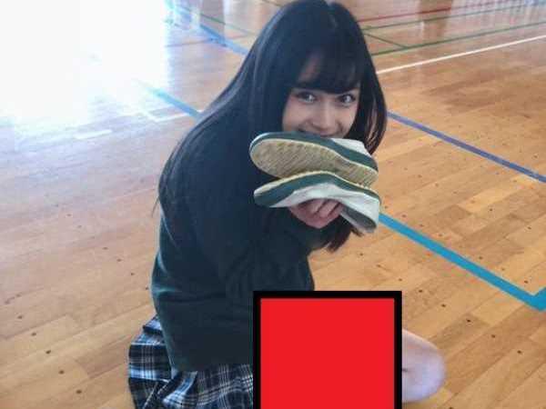 同級生 JK 学校生活 エロ画像 2