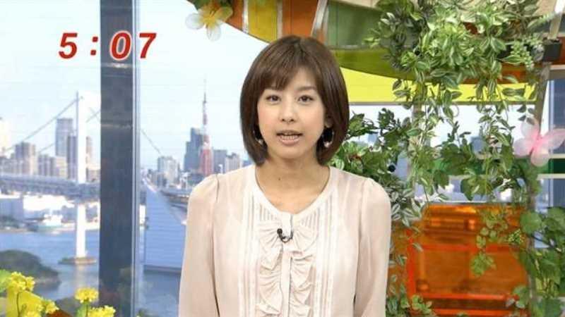 テレビの透け下着エロ画像 25