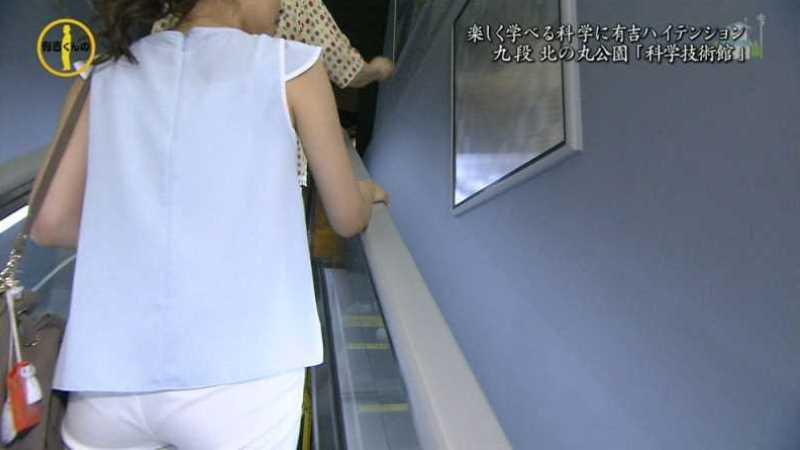 テレビの透け下着エロ画像 65