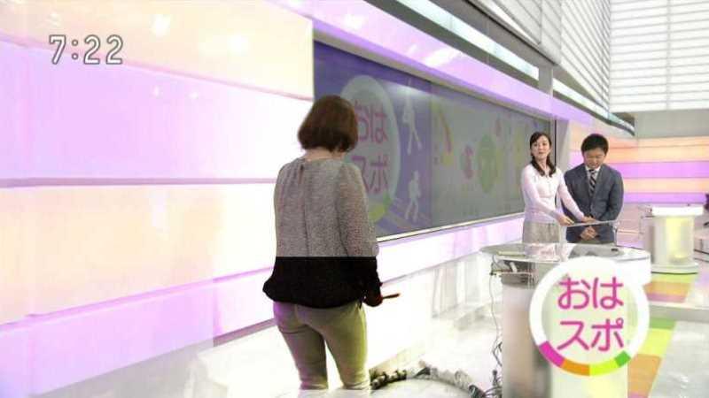 テレビの透け下着エロ画像 90