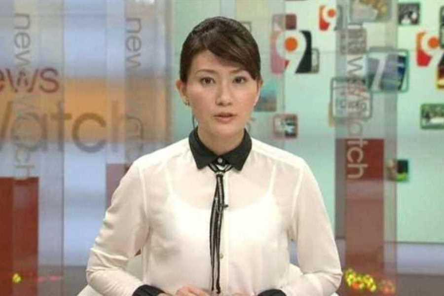 テレビの透け下着エロ画像 102
