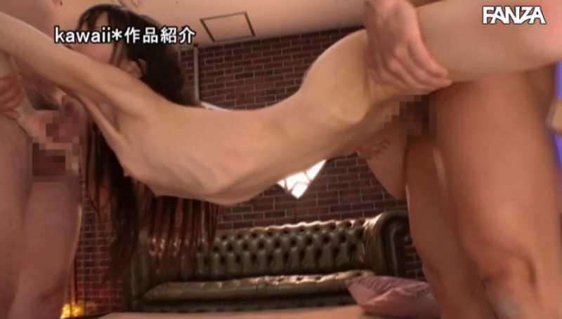 ガリガリ新体操選手 純真かれん エロ画像 63