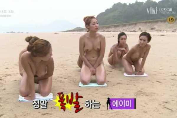 韓国 深夜テレビ 乳首 エロ画像 1