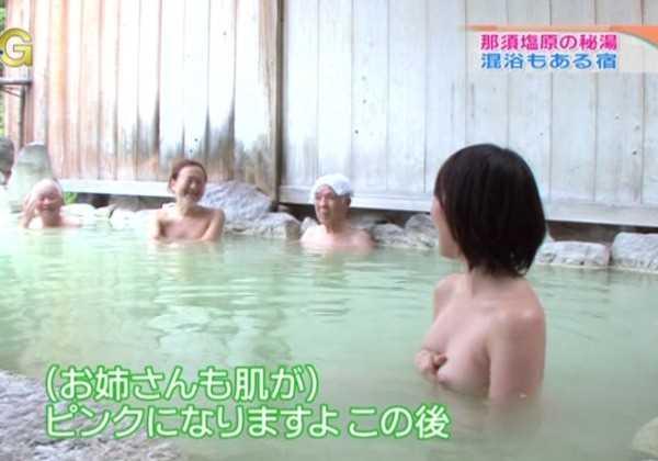 女性タレント 乳首 ハプニング映像 エロ画像 1