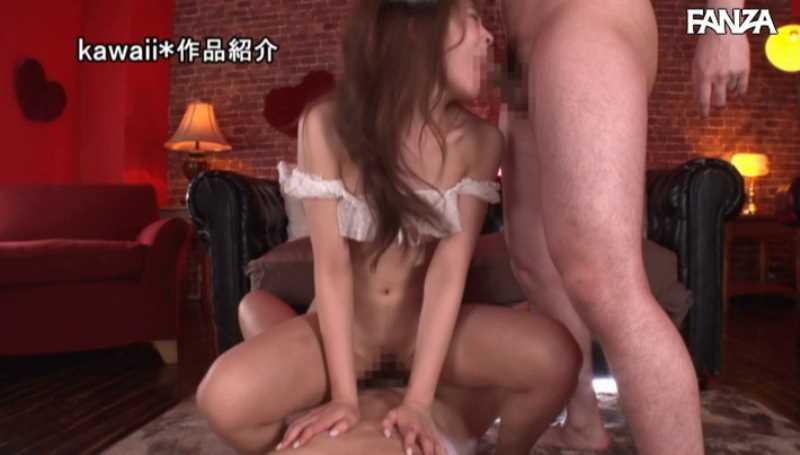精液垂れ流しの騎乗位セックス画像 23