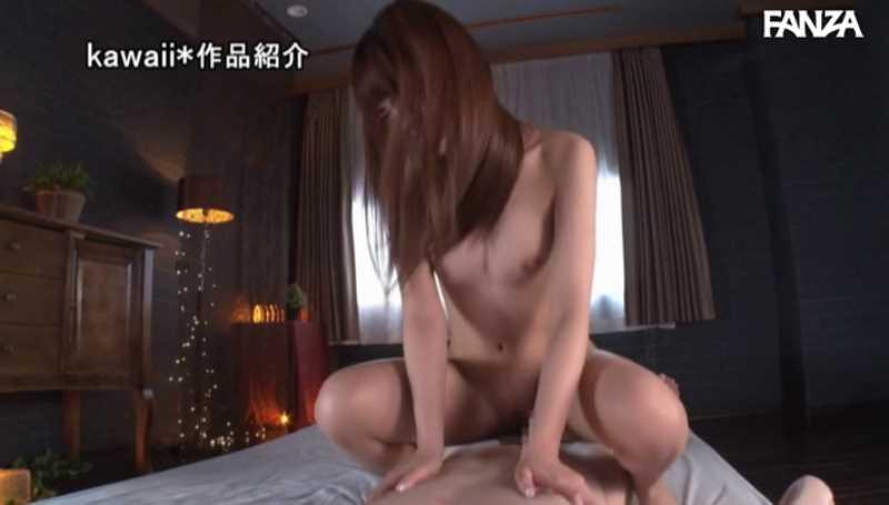 精液垂れ流しの騎乗位セックス画像 46