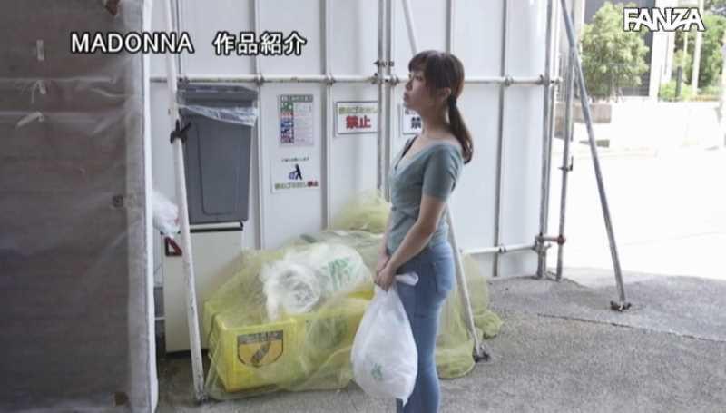 ゴミ捨て場の不倫エロ画像 23
