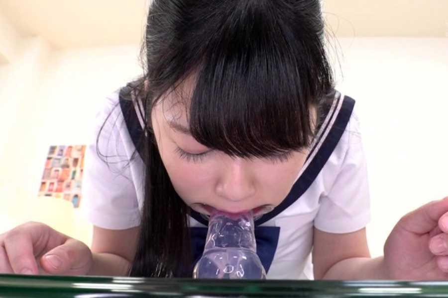 女子高生イラマチオ画像 2