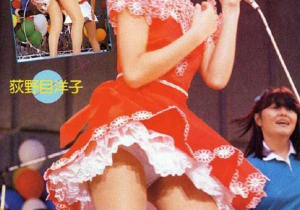 80年代アイドル パンチラ エロ画像 2