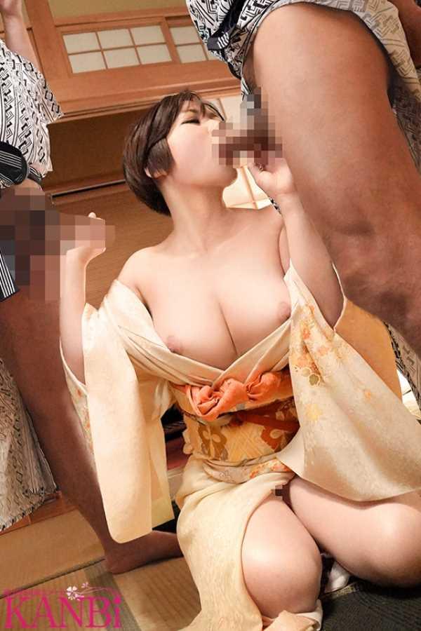 美人女将 上條悠 エロ画像 8