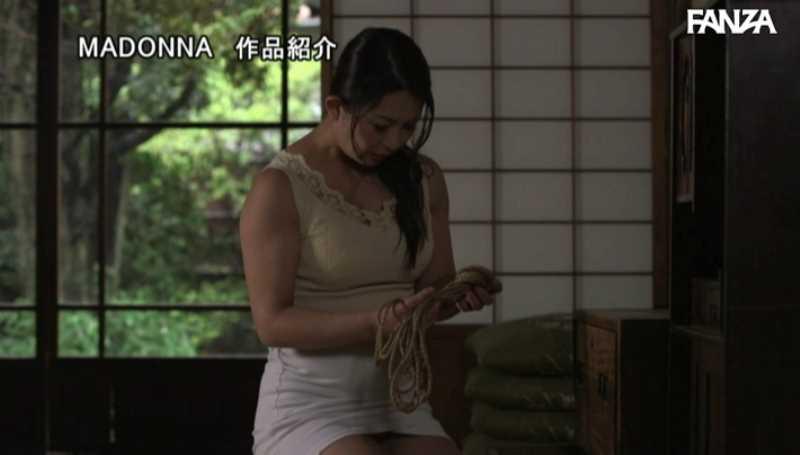 熟女人妻の緊縛SMエロ画像 20