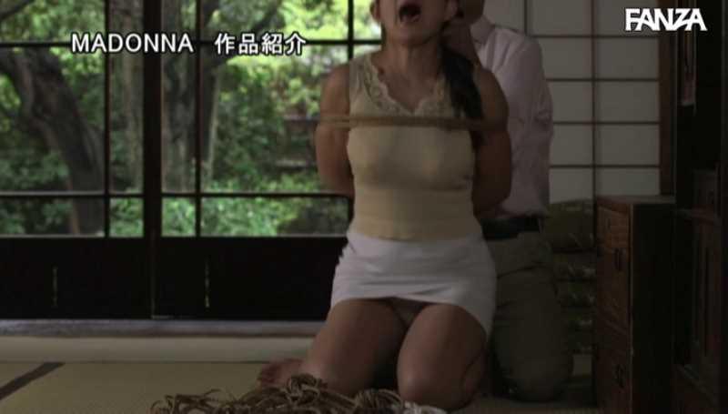熟女人妻の緊縛SMエロ画像 23