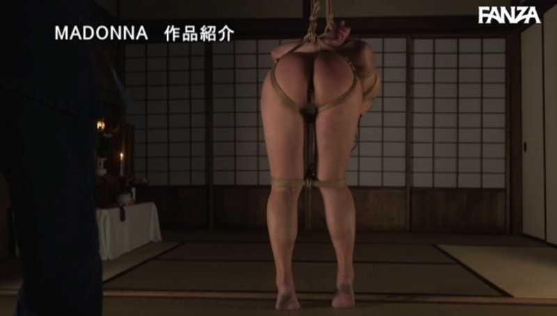 熟女人妻の緊縛SMエロ画像 39