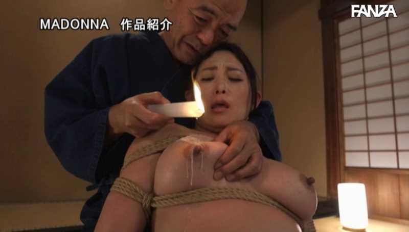 熟女人妻の緊縛SMエロ画像 52