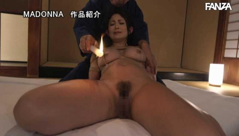 熟女人妻の緊縛SMエロ画像 54