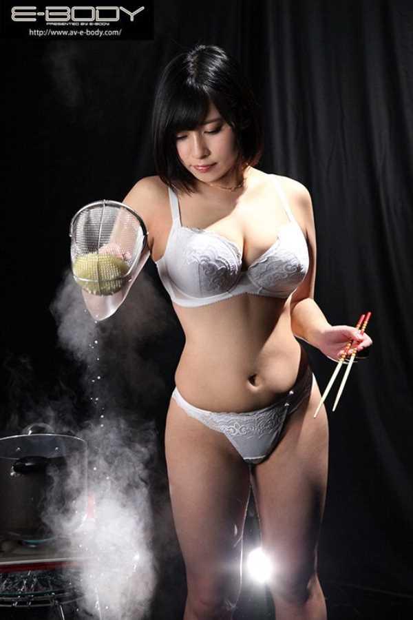 看板娘 夏目藍果 エロ画像 3