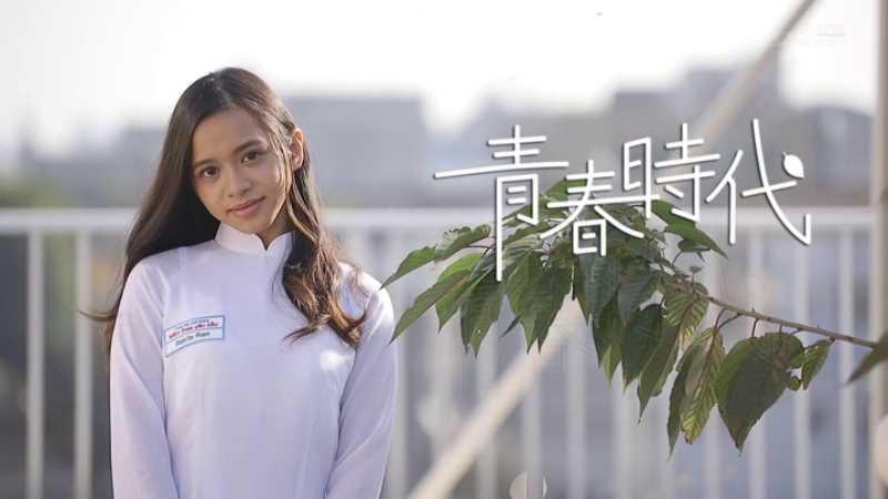 ベトナム美少女 咲田ラン エロ画像 14