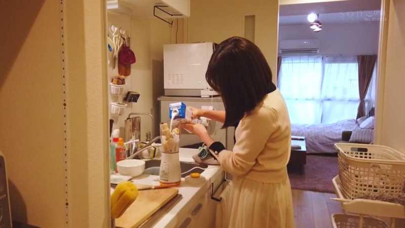 女子大生AV女優 真白美生 エロ画像 23