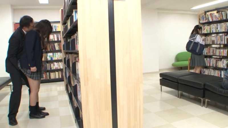 膣奥メッタ突きの図書館レイプ画像 23