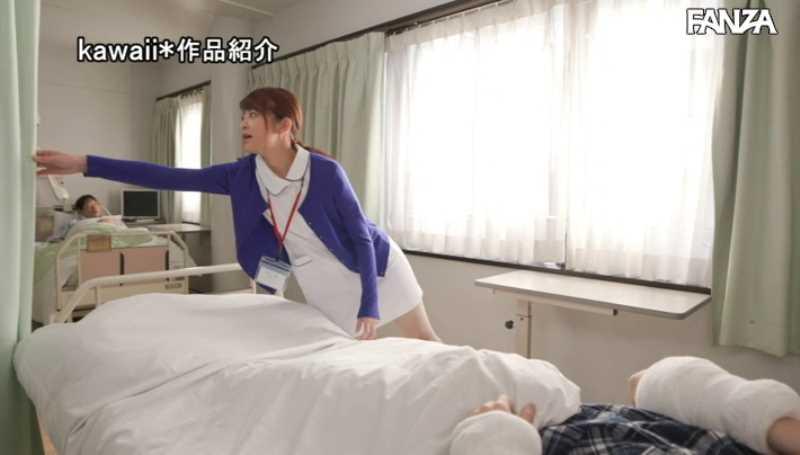 かわいい看護師の院内セックス画像 34