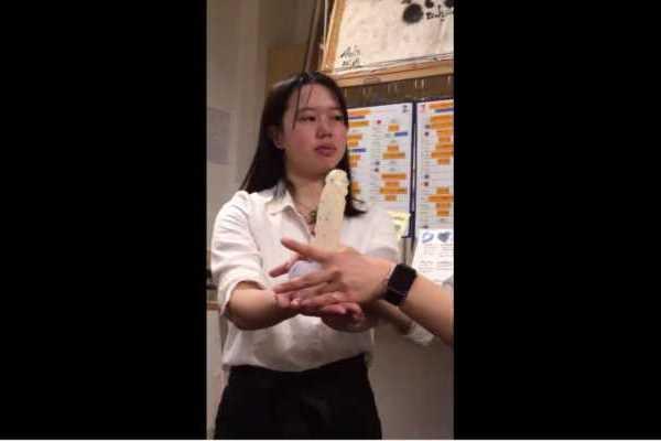 ディルドを使った女子校の授業風景エロ画像 2