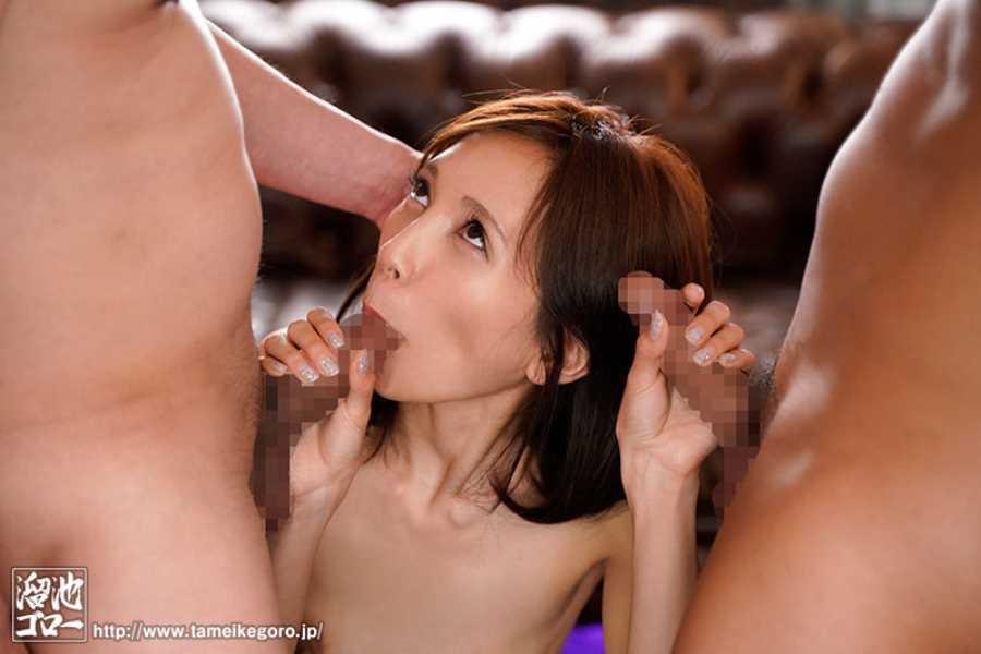微乳スレンダー人妻 美波杏奈 エロ画像 8