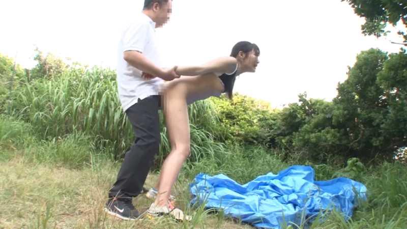 スポーツ女子の二穴セックス画像 34