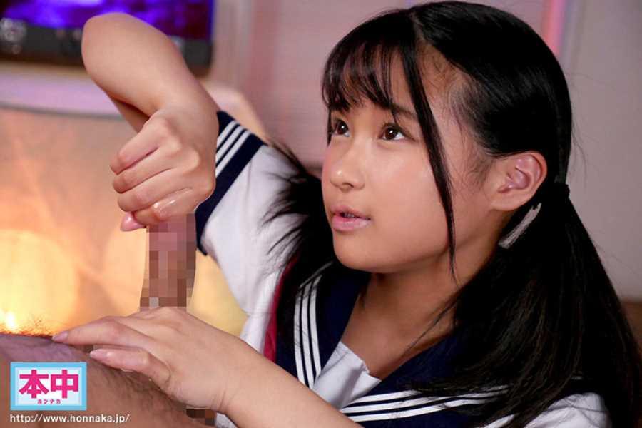 中学生みたいな女の子 葉山美音 エロ画像 8