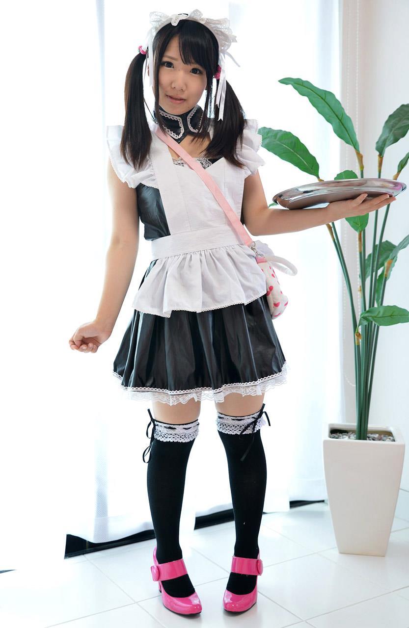 愛須心亜 メイド画像 1