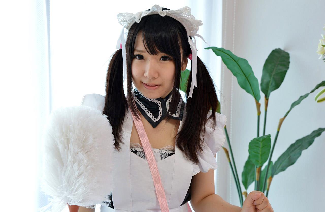 愛須心亜 メイド画像 14