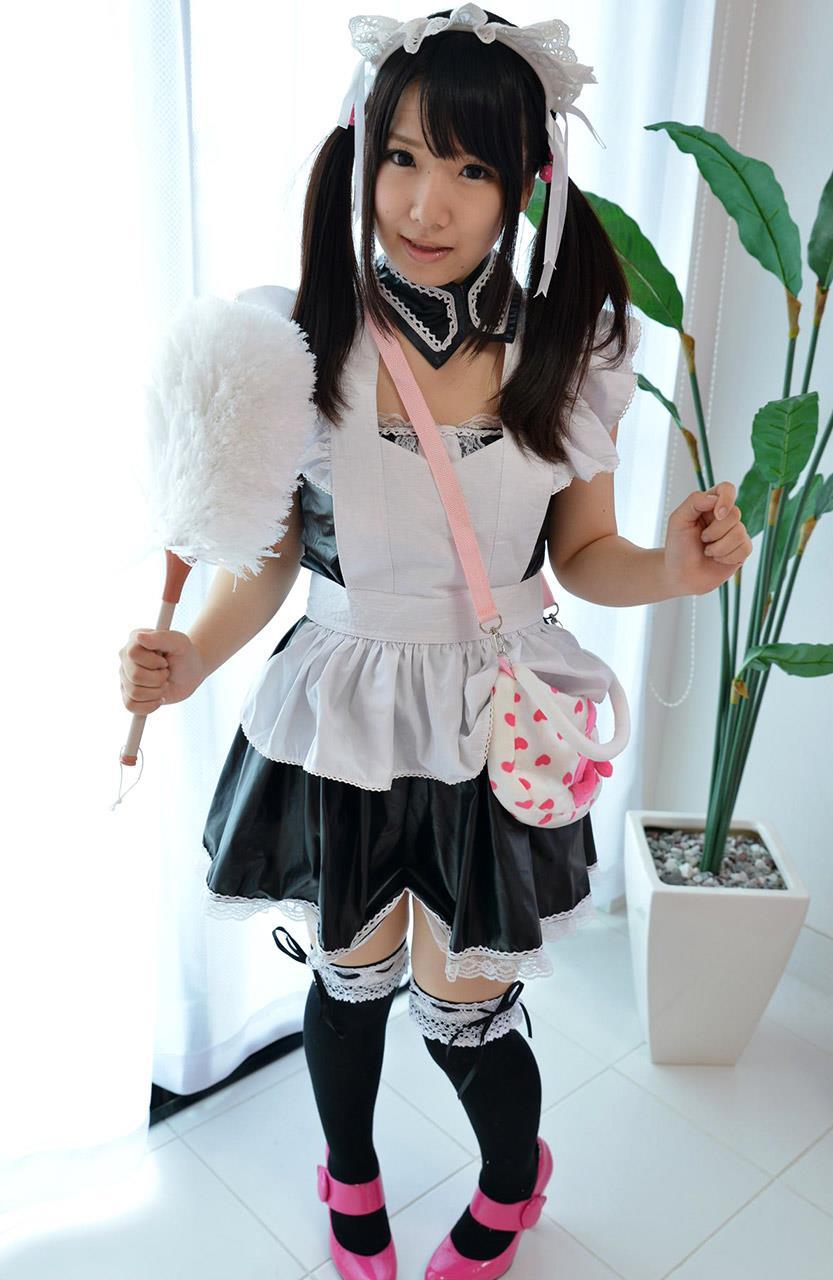愛須心亜 メイド画像 15