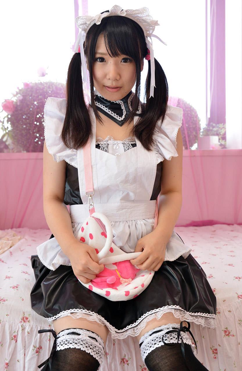 愛須心亜 メイド画像 27