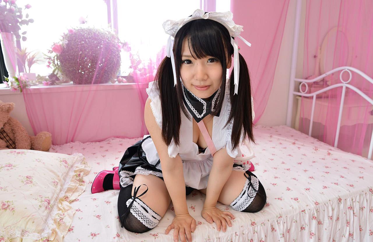 愛須心亜 メイド画像 44