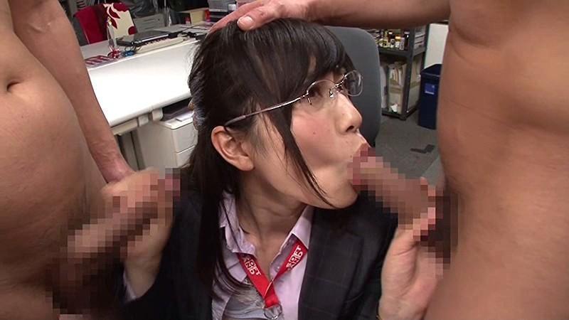 市川まさみ 銀縁眼鏡の宣伝部・女子社員セックス画像