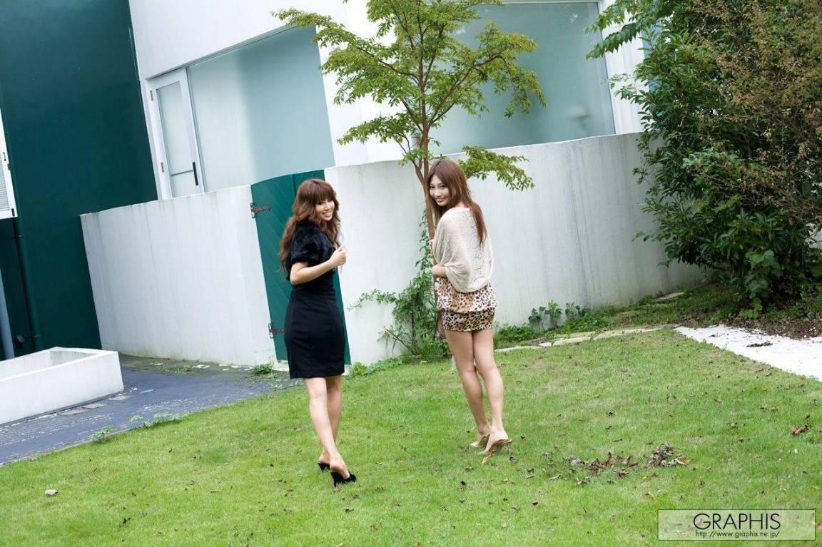明日花キララ・上原カエラ 過激すぎるレズ画像 11