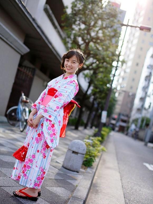 橋本環奈 浴衣画像 112