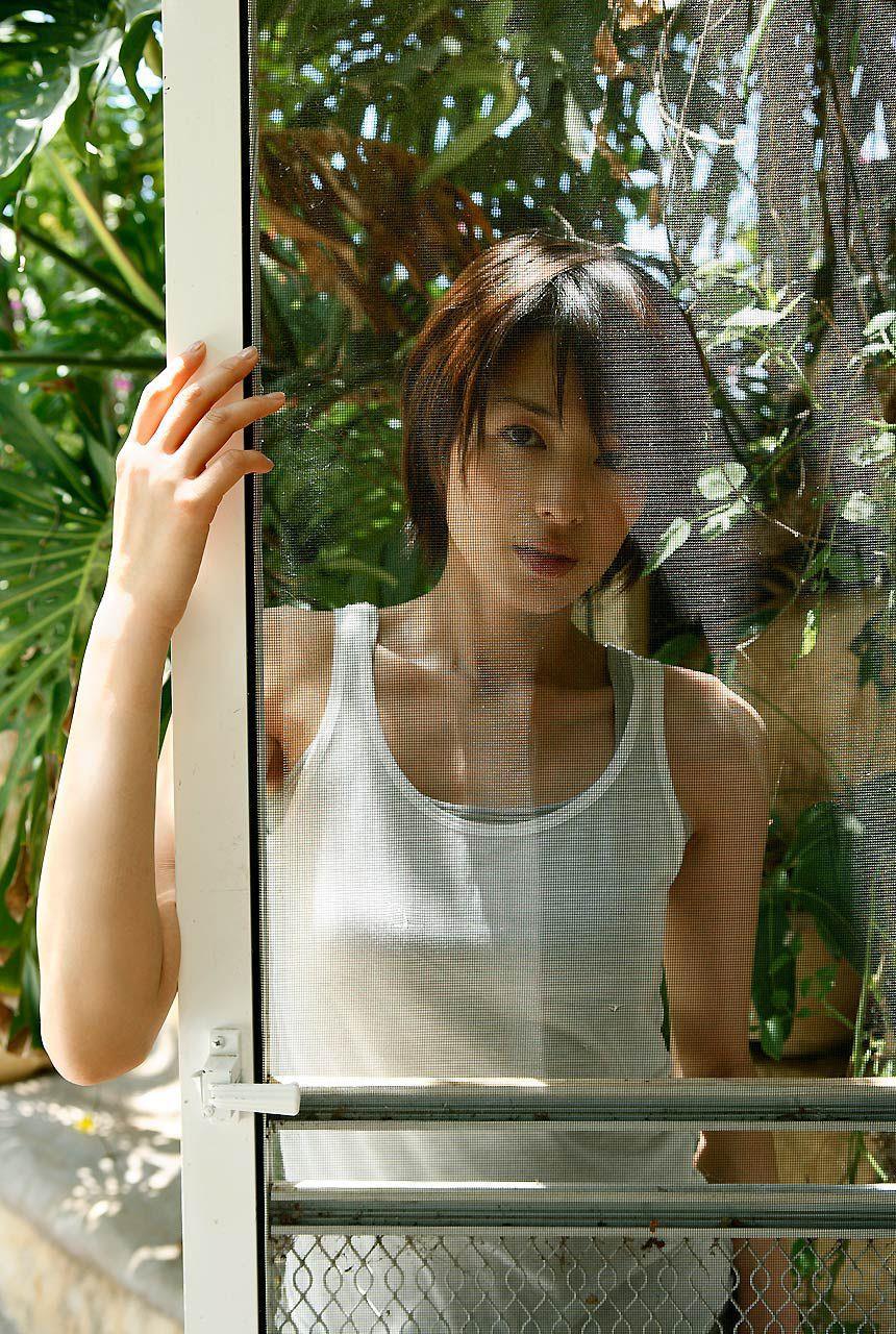 吉瀬美智子のドアのアミ
