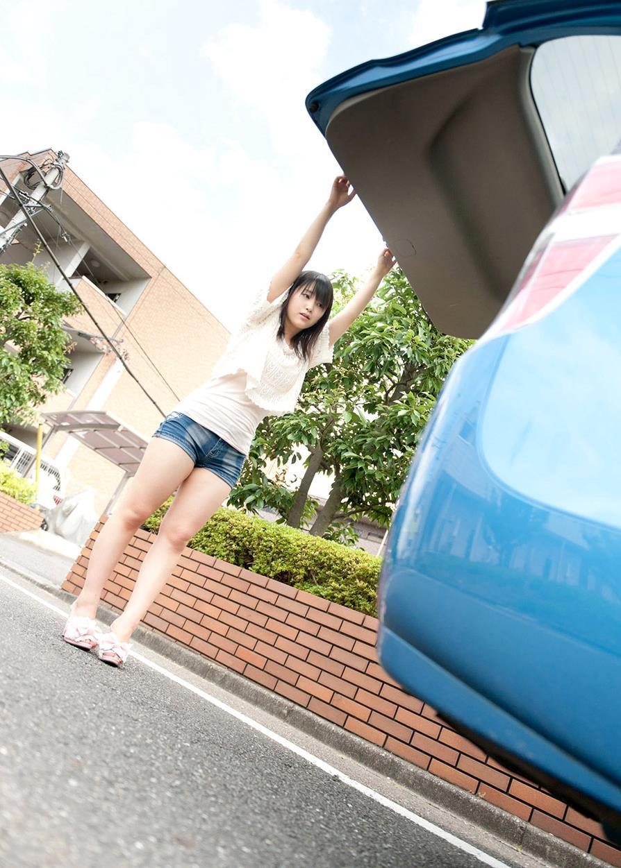 木村つな 青姦キャンプデート画像 1