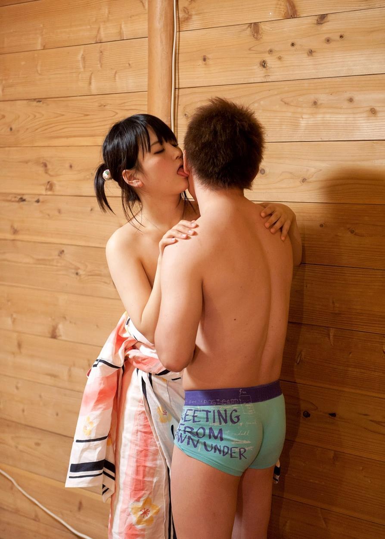 木村つな 青姦キャンプデート画像 134