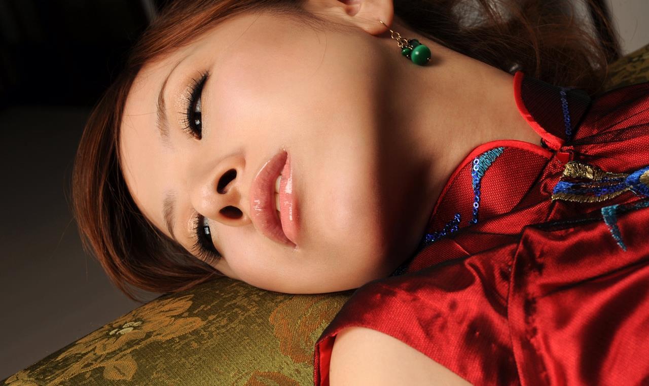 北川エリカ チャイナドレス画像 19