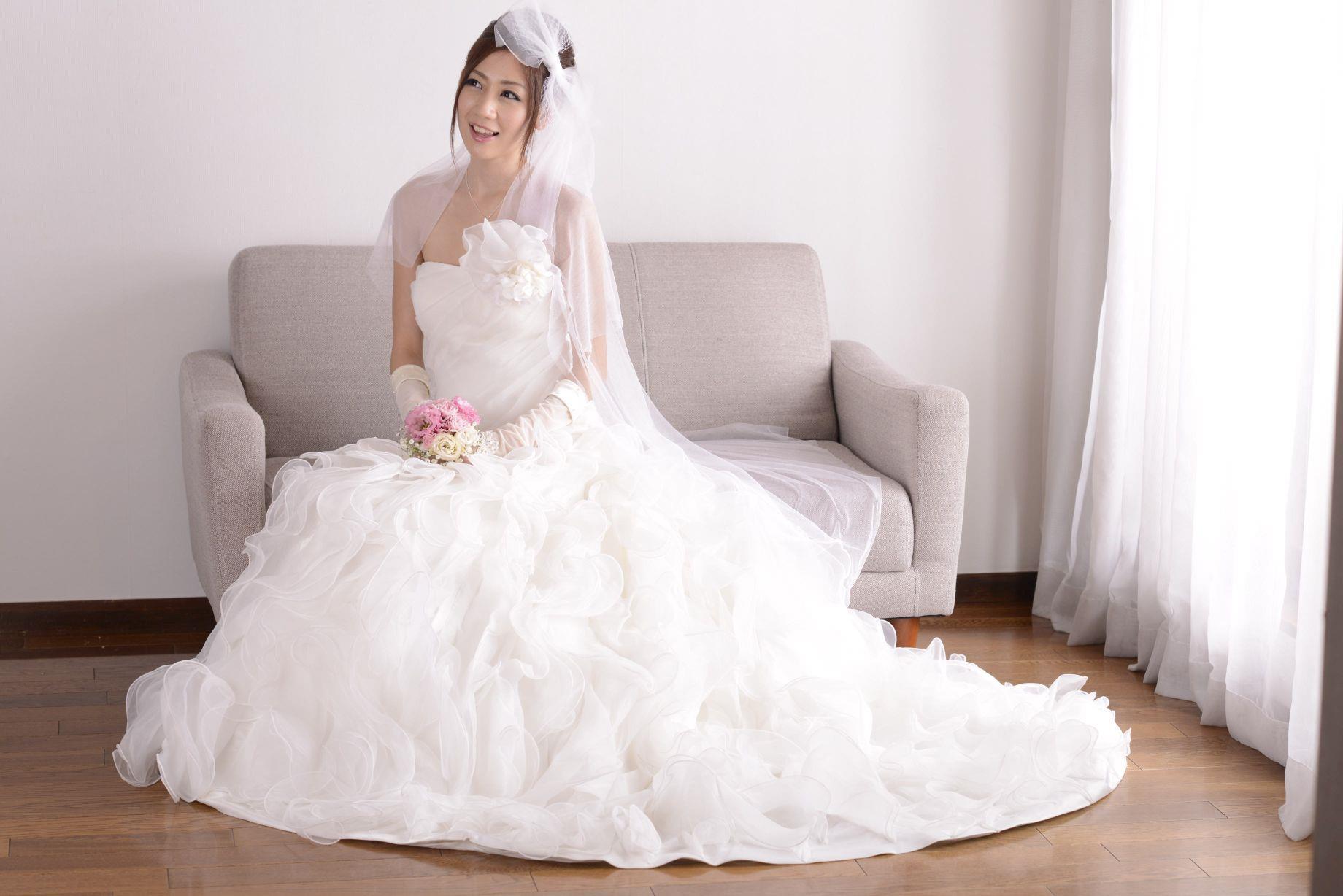 前田かおり ウェディングドレス画像 41