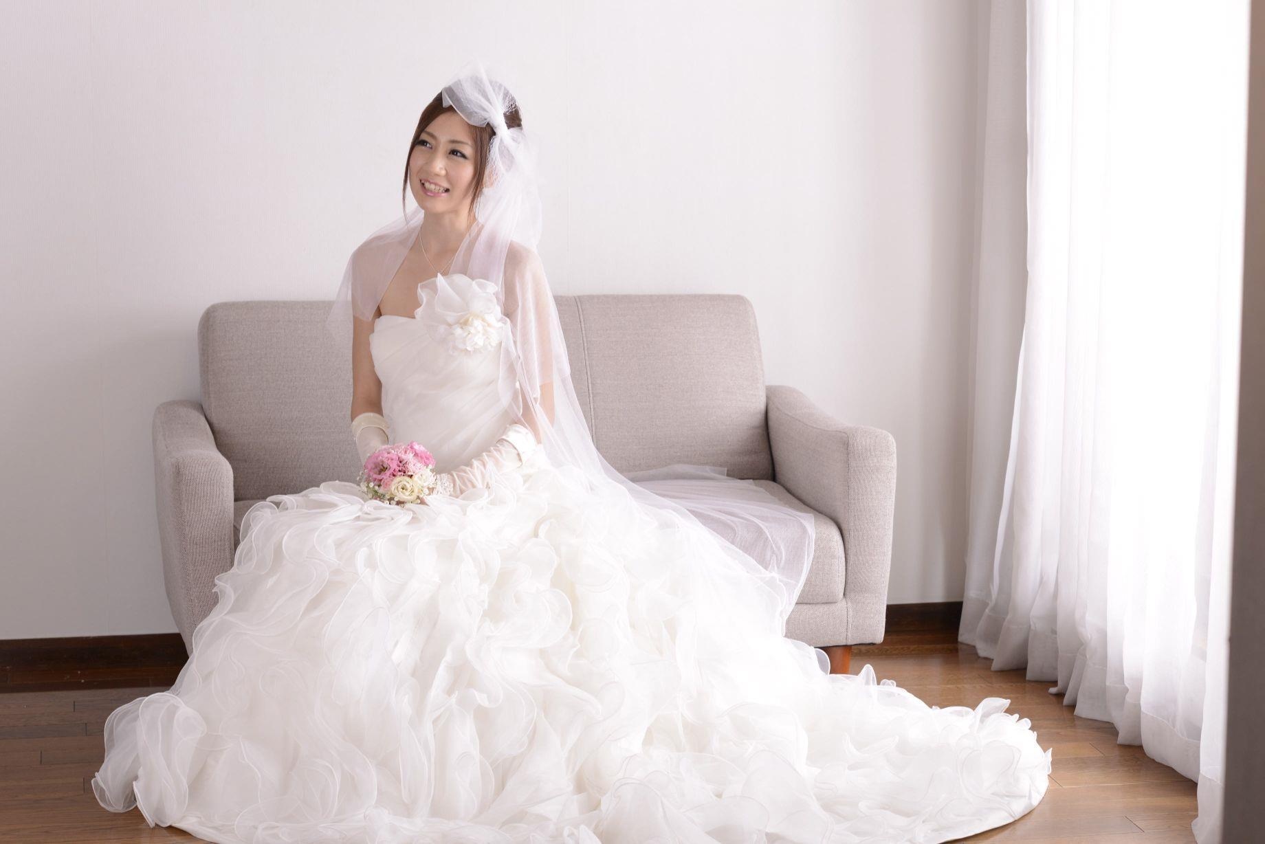 前田かおり ウェディングドレス画像 42