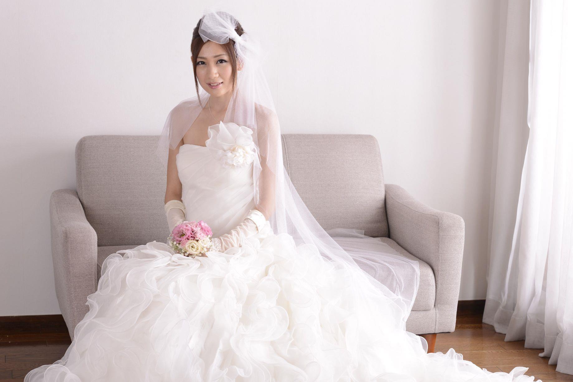 前田かおり ウェディングドレス画像 43