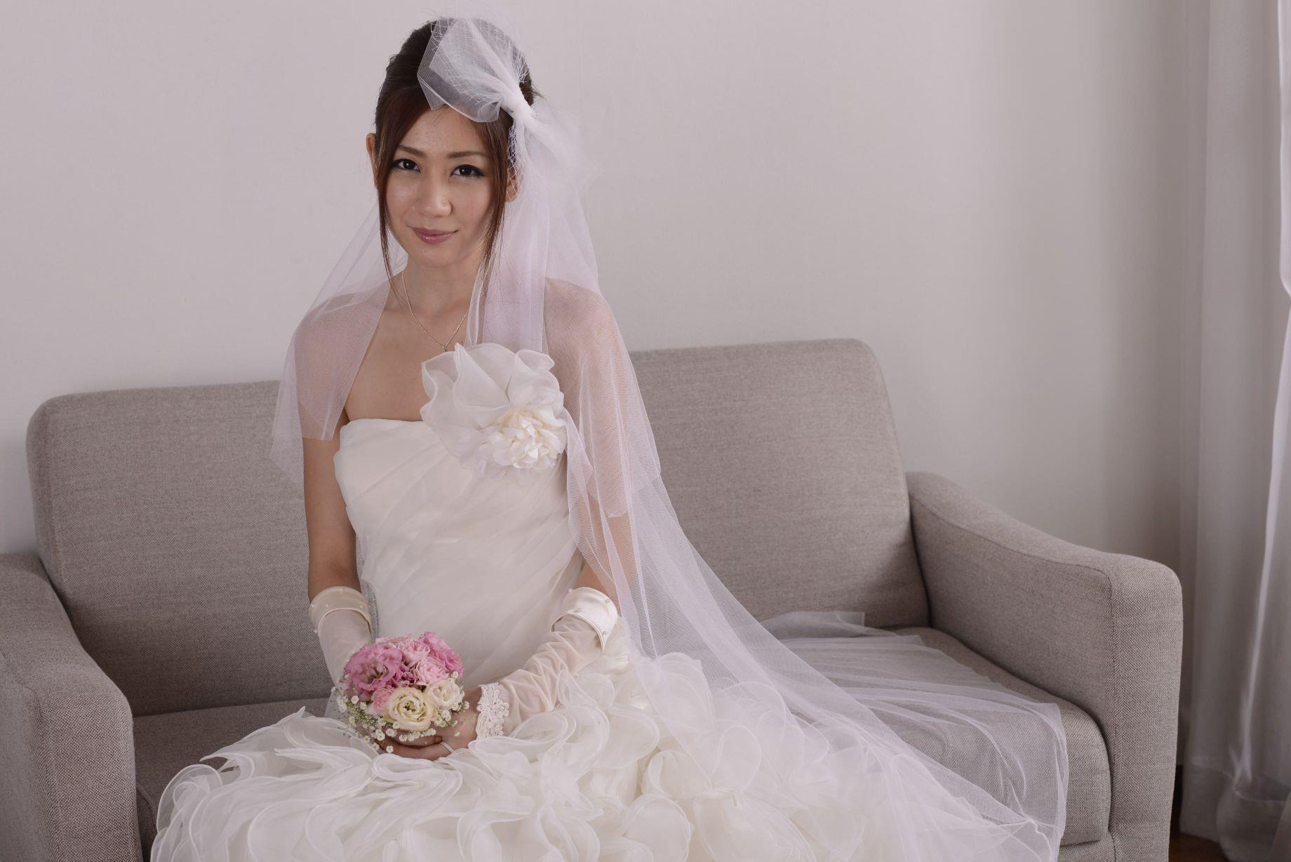 前田かおり ウェディングドレス画像 45