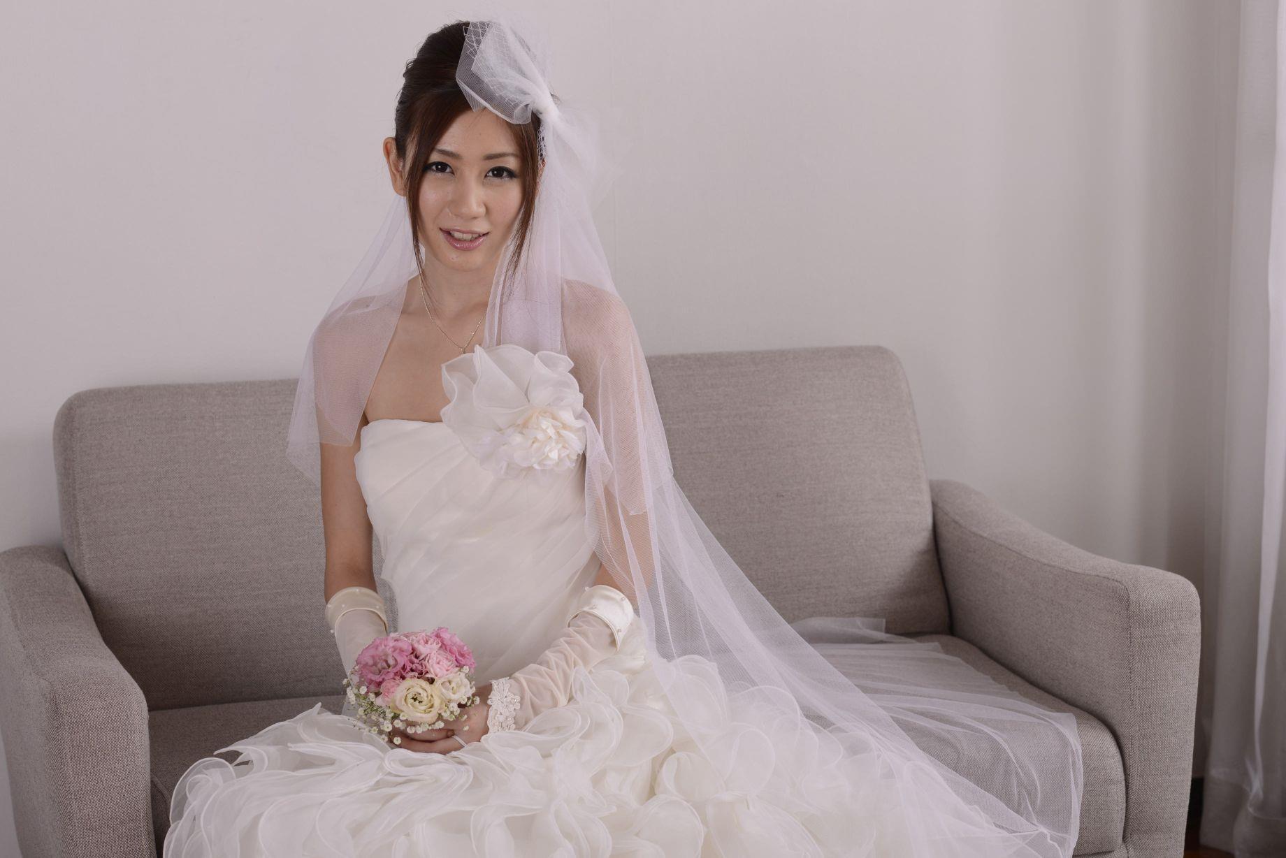 前田かおり ウェディングドレス画像 46