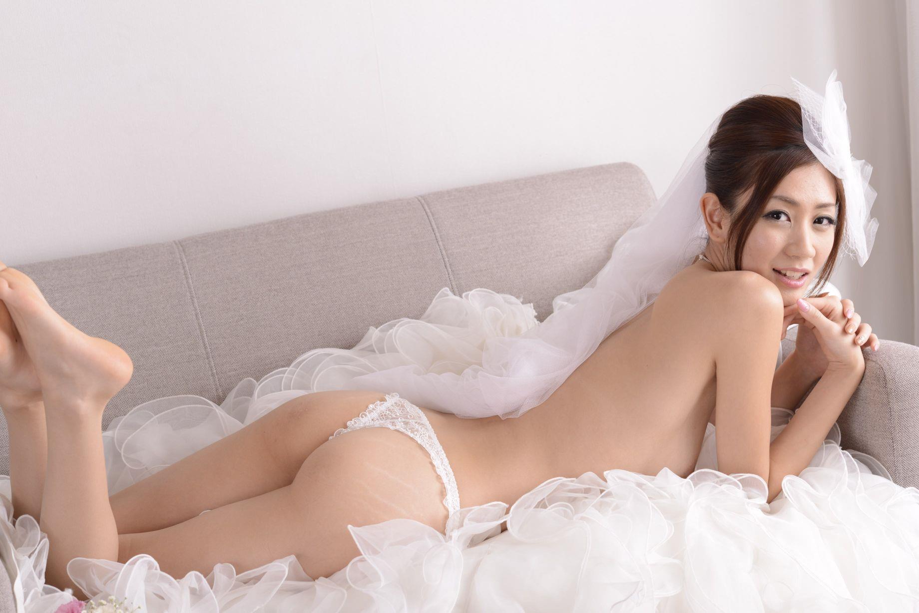 前田かおり ウェディングドレス画像 85