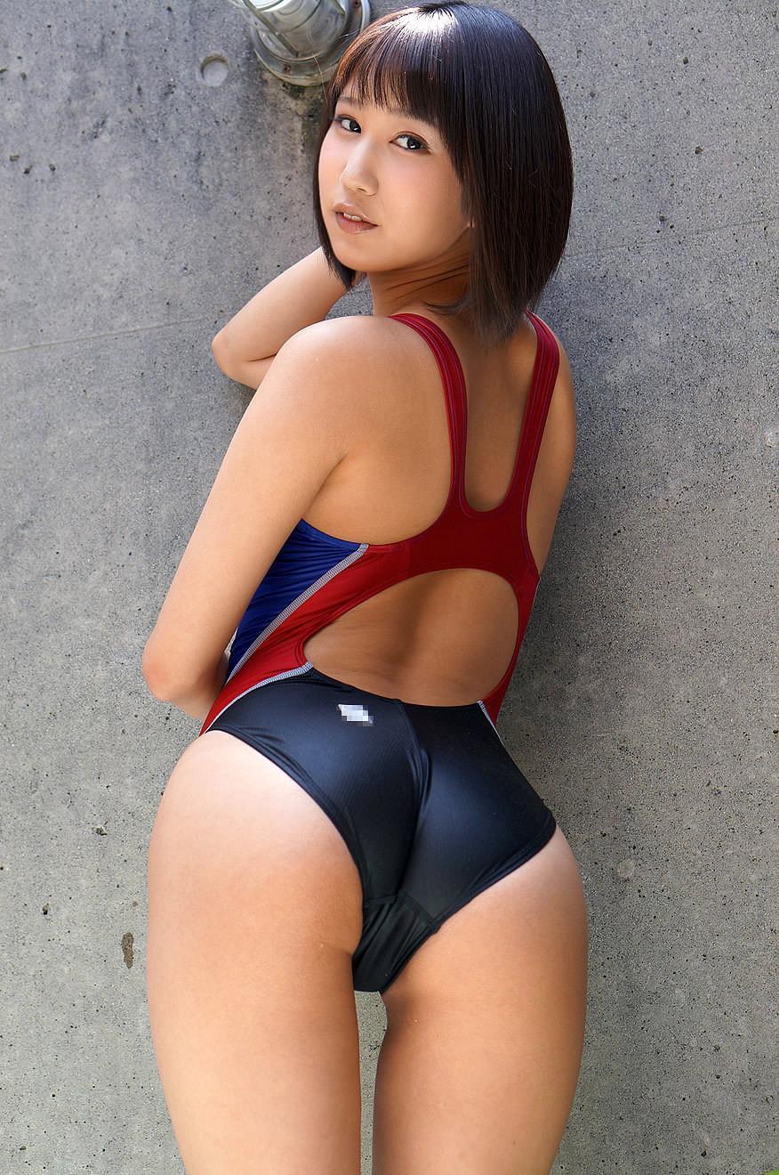 湊莉久 競泳水着エロ画像 6
