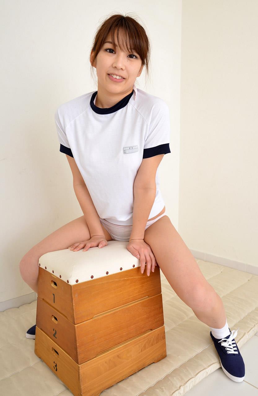 宮地藍 体操服エロ画像 41