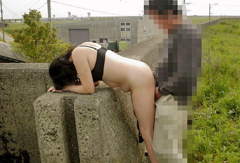 野外セックス 画像 22
